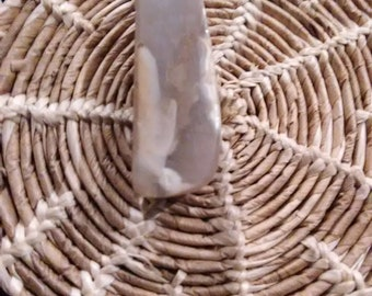 Polish Stone Pendant