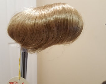 Reduced Price--Beautiful Vintage Kemper Blonde or Light Brown Tracy Doll Wig 8-9