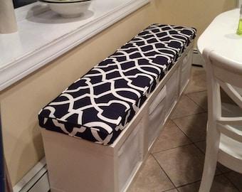 ikea kallax custom cushion playroom nursery organzation. Black Bedroom Furniture Sets. Home Design Ideas