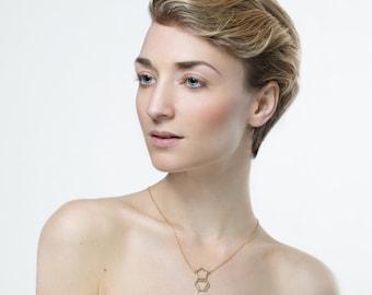 Mdma molecule necklace -Sterling Silver, chemistry jewelry, chemistry necklace, science jewelry, minimalist jewelry minimalist necklace