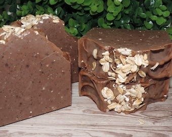 Snickerdoodle | Handcrafted Artisan Soap | XL Size | Cold Process | Palm Free | Luxury Soap | Winter Collection | Free Shipping