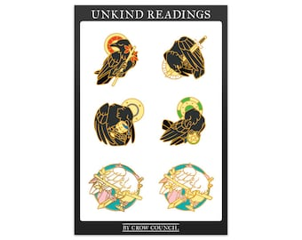 Two (2) Unkind Readings Sticker Sheets