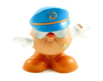 Wendy's Potato Head Kids Policeman Duke Opened Vintage
