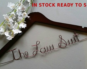 In Stock Ready to Ship - Lawyer Hanger, New Graduate or The Soon to Be Lawyer, Attorney Gift - Lawyer Gift - Legal Law Gift
