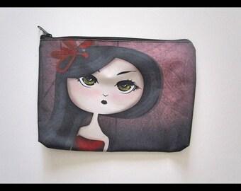 Fearless Girl Cosmetic Bag