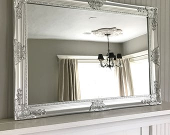 Brilliant Silver Bedroom Mirror