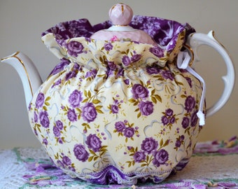 LARGE SIZED Tea Cozy will fit a 48 Oz Teapot