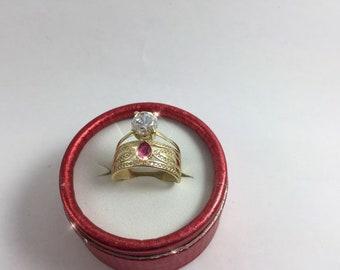 22k ring, gold ring, rings