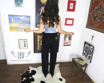 Vintage Black High Waisted Wrangler Boyfriend Jeans