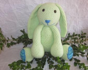 Crochet Pattern - Minty the Spring Bunny