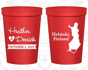 Finland Wedding Cups, Finland Stadium Cups, Finland Plastic Cups, Finland Cups, Finland Party Cups (174)