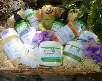 Mommy & Me Gift Basket Deluxe Organic Ingredients Vegan