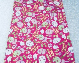"""TR-46. 42""""x14"""" Happy Easter Table Runner"""