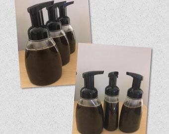 100% Natural Liquid African Black Soap