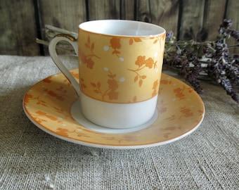 Small Coffee cup set vintage porcelain floral pattern elegant ceramic cups coffee love coffee mug funny espresso cups romantic decor