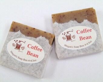Coffee soap,Handmade coffee scented soap, Espresso soap, vegan soap. handmade Soap, cold process soap,