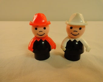 Pair of Vintage Fisher Price Little People