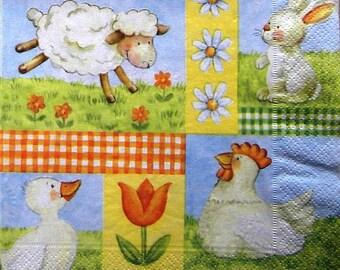 """Sheep"" towel"