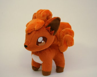Pokemon Inspired Vulpix Plush Fan-made - Made-to-Order