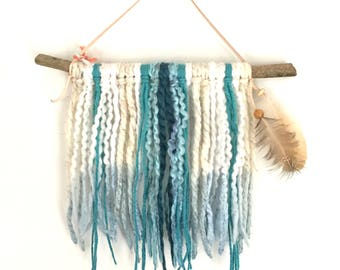 Turqouise Dream Catcher Tapestry Mini