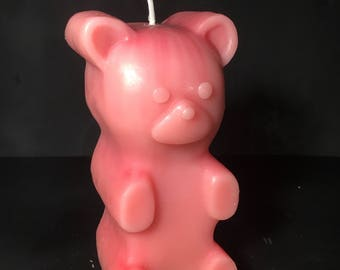 Scented Gummy bear candles