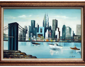 Under the Brooklyn Bridge by Stanio