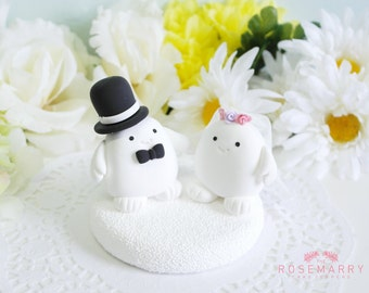 Custom Cake Topper - Adipose from Doctor Who
