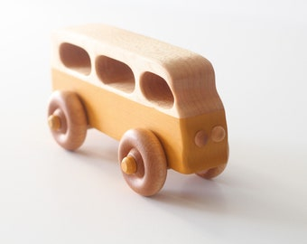 VW Bus push toy