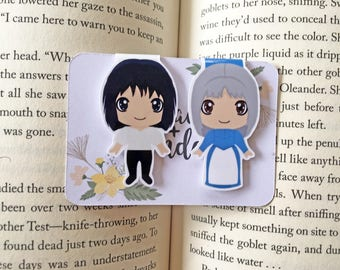 The Wizard and His Moving Castle Magnetic Bookmarks