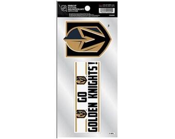 Vegas Golden Knights Die Cut Sticker