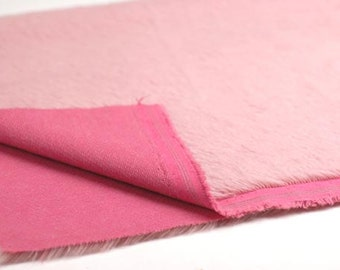 1/2-inch Dark Mauve Pink E55 Schulte Mohair Fabric 1/8 or 1/4 Yard