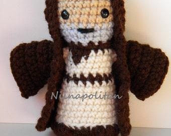 Star Wars Inspired Amigurumi Doll - Obi-Wan Kenobi - MADE TO ORDER