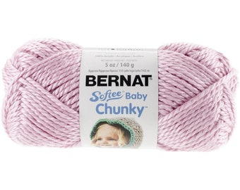 Tutu Pink Bernat Softee Baby Chunky Yarn 96002