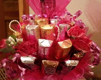 Birthday Candy Bouquet Teacup Candy Bouquet Teacup Candy Birthday Candy Birthday Candy Arrangement