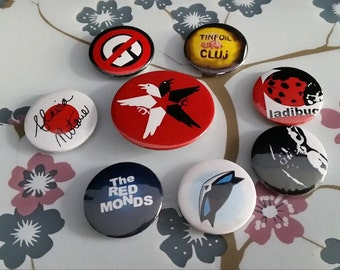 Infamous Delsin Rowe pin set