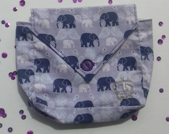 Purple Elephants Official UK Planner Addicts Pocket Size Planner Cover.