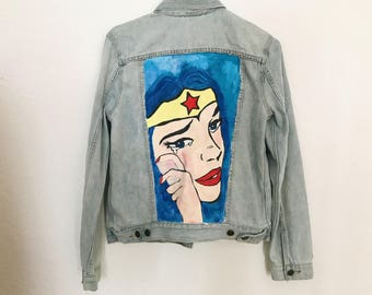 Wonder Woman Denim Jacket