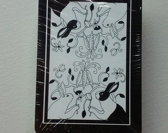 The Rabbit Tarot - Card Deck - First Edition - Rare - Last One