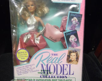 The real Model Collection Christie Brinkley doll vintage New in box