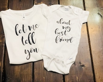 Onesie Pairs | Baby Clothes | Kids Clothes | Childrens Clothes | Sibling Outfits