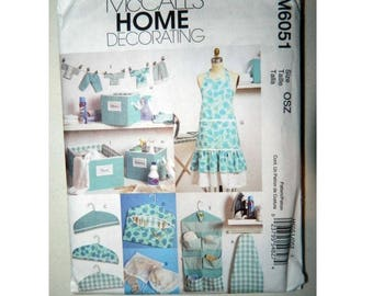 McCall's Home Decorating Pattern 6051 - Uncut