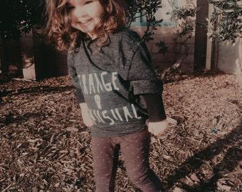 Kids' Strange and Unusual Lydia Deetz Beetlejuice  Triblend T-Shirt