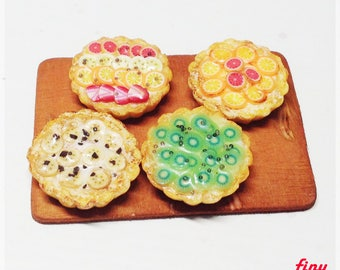 Mini fruit tarts set
