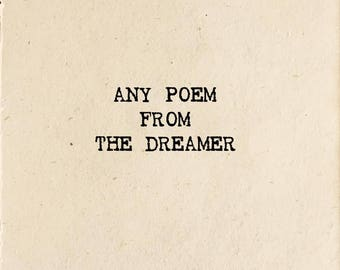 Poem From The Dreamer (Read Description for details)