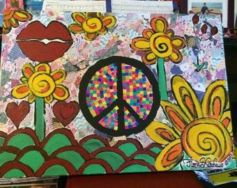 Peace Cotttage Collage