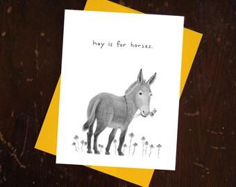 Donkey Notecard