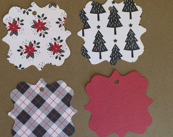 "20 - 3""  Christmas Gift Tags - Favor Tags   T10"