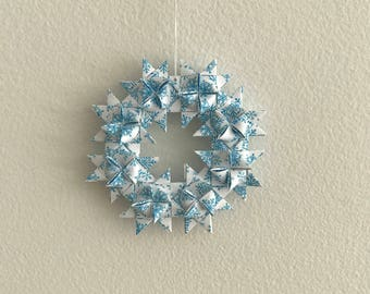 Moravian Star Wreath—Snowflake