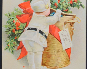Christmas Postcard Artist Ellen Clapsaddle  Series 1887