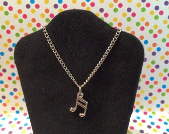 American Girl Doll/18 inch doll Music Note Necklace